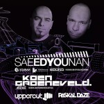 Saeed Younan & Koen Groeneveld @ Circus – 7 juin 2014 – Grand Prix Weekend