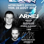 Arnej @ Circus – Île Soniq Official After Party – Ven. 15 Août 2014