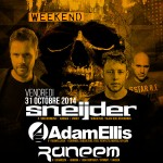 Sneijder – Adam Ellis – Raneem @ Circus – Halloween – Fri. October 31, 2014