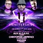 Alex M.O.R.P.H. – Christopher Lawrence – Sneijder – kärl k-otik @ Circus 11th Anniversary – Fri. May 1, 2015