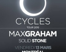 Max Graham Extended Set & Solid Stone @ Circus – Cycles Tour 2015 – Fri. March 13